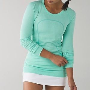 Lululemon Athletica Swiftly Top Mint Green Size 4